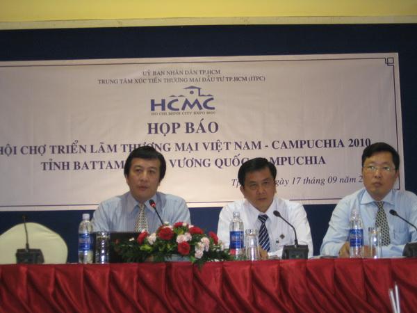 """Hội chợ Thương mại, Dịch vụ và Du lịch Việt Nam – Campuchia 2010 """"Sản phẩm Việt Nam – Thêm lựa chọn – Tăng niềm tin"""" - 2"""