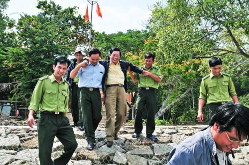 Tạp Chí Du lịch TP.Hồ Chí Minh thăm và chúc tết Cán bộ, Chiến sĩ Kiểm Lâm Cần Giờ - 6