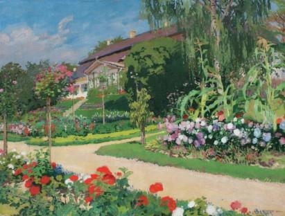 Vòng quanh thế giới qua những bức họa mùa xuân nổi tiếng
