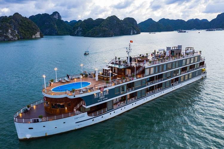 Khám phá du thuyền Heritage Bình Chuẩn để tìm về kí ức xưa