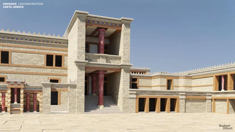 Phục chế 3D lại thời kì vàng son của 7 tàn tích cung điện