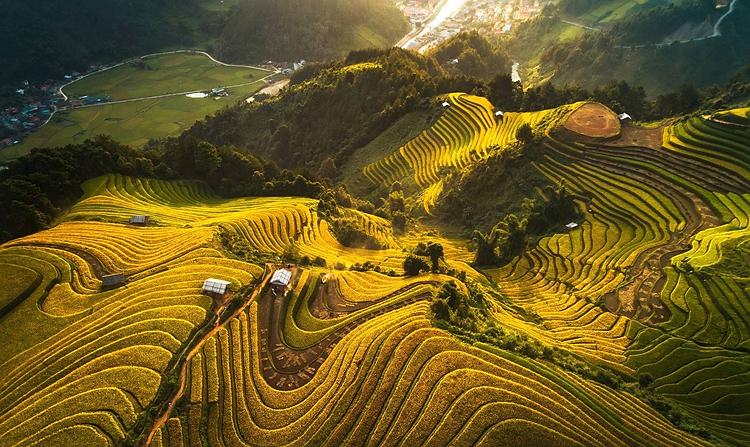 Việt Nam trong loạt ảnh chụp trên cao đạt giải quốc tế