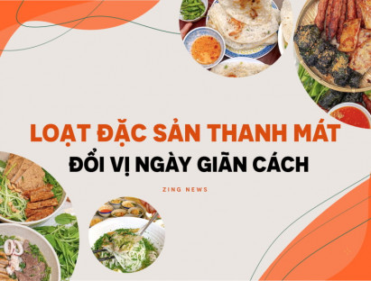 Ăn gì - Hương vị miền Trung giữa TP.HCM đổi vị ngày giãn cách