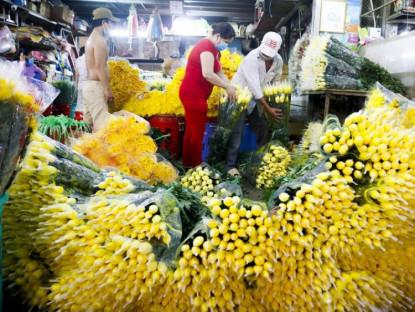 Chuyển động - Mua nhanh, bán nhanh ở chợ hoa Đầm Sen để phòng dịch COVID-19