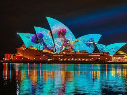 Lễ hội - Australia lùi kế hoạch tổ chức lễ hội ánh sáng Vivid Sydney